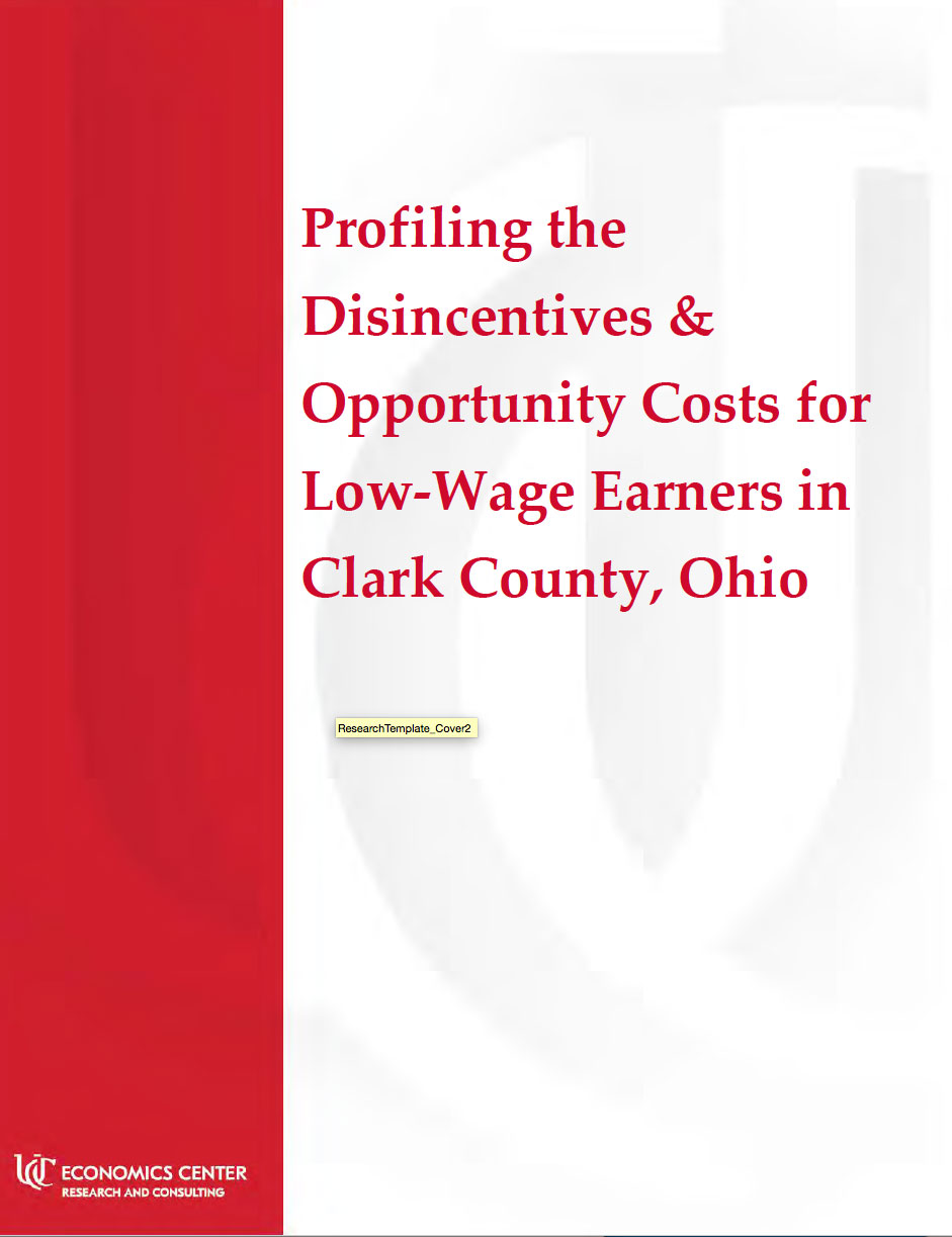 Thumbnail Image For Profiling the Disincentives & Opportunity Costs for Low-Wage Earners in Clark County, Ohio - Click Here To See