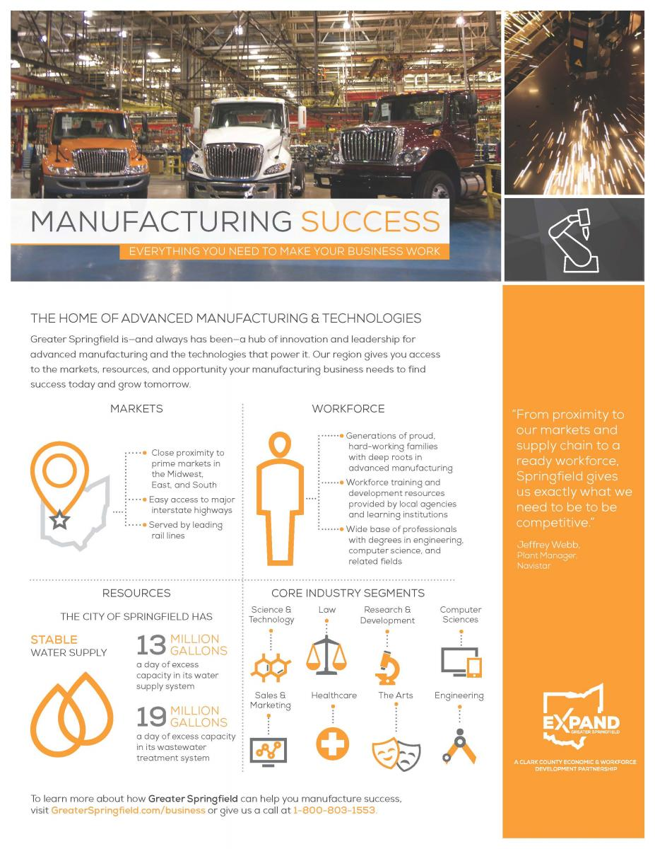 Thumbnail Image For Greater Springfield: Manufacturing Success - Click Here To See